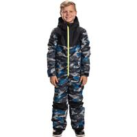 Strata Blue Camo 686 Shazam One Piece Boys