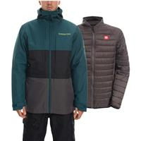 Deep Teal 686 Smarty 3 in 1 Form Jacket Mens