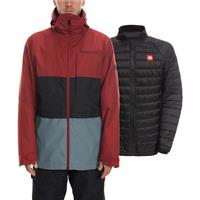Rusty Red 686 Smarty 3 in 1 Form Jacket Mens