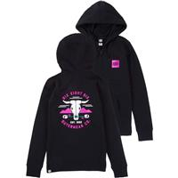 Black 686 Rebel Zip Hoody Womens