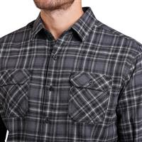 Kuhl Dillingr Flannel LS Shirt - Men's - Damascus Steel