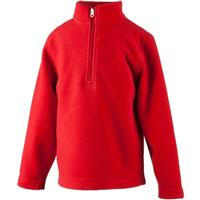 Red Obermeyer Ultragear 100 Micro Zip Top Youth