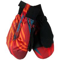 Thunder Red (17141) Obermeyer Thumbs Up Print Mitten Youth