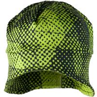 Green Mesh Print Obermeyer Jib Skull Cap Youth