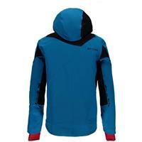 Electric Blue / Black / Red Spyder Bromont Jacket Mens