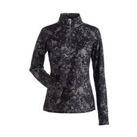 Nils Robin Print 1/4 Zip T Neck Womens