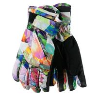 Chevron Floral Obermeyer Cornice Glove Youth
