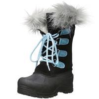 Black / Aqua Northside Snow Drop II Boots Girls