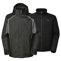 Asphalt Grey / TNF Black / Monument Grey The North Face Vortex Triclimate Jacket Mens