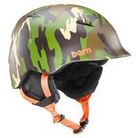 Matte Fatigue Camo Bern Camino Helmet Boys