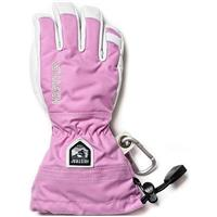 Hestra Army Leather Heli Jr Glove - Cerise
