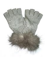 Silver Mitchies Matchings Knit Texting Glove Womens silver