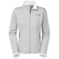 TNF White Heather The North Face Agave Jacket Womens