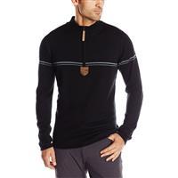Black Obermeyer Zurich 1/2 Zip Sweater Mens