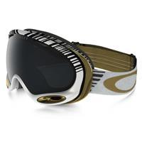 Echelon White Gold Frame / Dark Grey Lens (OO7044 08) Oakley Shaun White Signature A Frame 2.0 Goggle