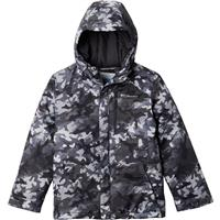 Columbia Lightning Lift Jacket - Boy's - Shark Brushed Camo