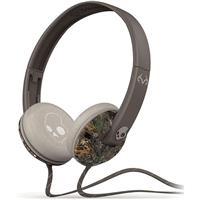 Real Tree / Dark Tan / Tan Skullcandy Uprock Headphones with Mic