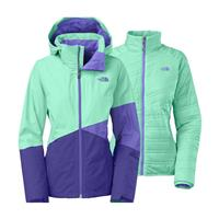 Surf Green The North Face Gala Triclimate Jacket Womens