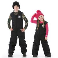 Zemu Everest Insulated Snow Bibs - Youth