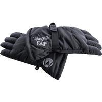 Black Winters Edge Mountain Range Gloves Womens
