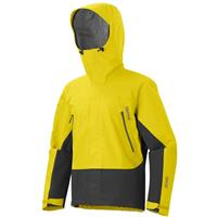 Acid Yellow / Dark Granite Marmot Spire Jacket Mens