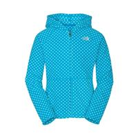 Acoustic Blue The North Face Dottie Glacier Full Zip Hoodie Girls