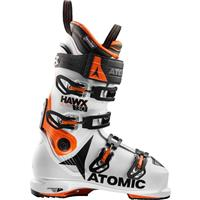 White / Orange / Black Atomic Hawx Ultra 130 Ski Boots Mens