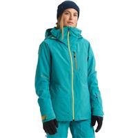 Green Blue Slate Burton AK Gore Tex Embark Jacket Womens