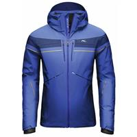 Alaska / Orange Pepper Kjus Speed Reader Jacket Mens
