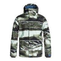 Alaskan Camo Military Remix Quiksilver Mission Printed Jacket Mens
