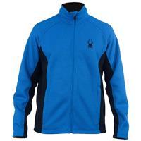 Alpine / Black / Alpine Spyder Constant Full Zip Midweight Core Sweater Mens