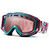 Aqua/Burgundy RFC Frame with Ignitor Lens Smith Stance Goggle