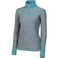 Aqua Neve Shelly Zip Neck Sweater Womens