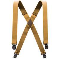 Metal Brown Arcade Jessup Suspenders