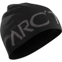 Black / Iron Anvil Arcteryx Word Head Hat