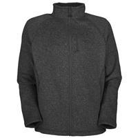 Asphalt Grey Heather The North Face Gordon Lyons Full Zip Fleece Jacket Mens