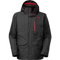 Asphalt Grey The North Face Thermoball Snow Triclimate Parka Mens