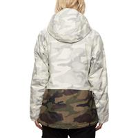 686 Athena Insulated Jacket - Women's - White Camo Colorblock