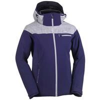 Atlantic Blue / Grey Melange / White Kjus Vision Jacket Womens