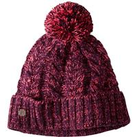 Aubergine Heather Smartwool Ski Town Hat
