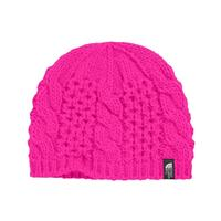 Azalea Pink The North Face Cable Minna Beanie Girls