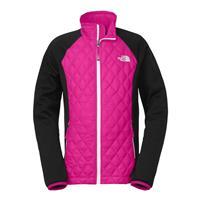 Azalea Pink / TNF Black The North Face ThermoBall Hybrid Jacket Girls