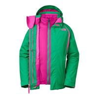 Bastille Green The North Face Kira 2.0 Triclimate Jacket Girls