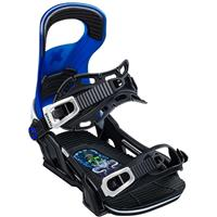 Blue Bent Metal Logic Bindings Men's