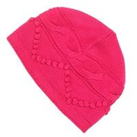 Berry Pink Nils Hat with No Brim Womens