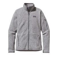 Birch White / Black Patagonia Better Sweater Jacket Womens