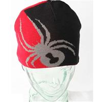 Black and Red Spyder Reversible Bug Hat Boys