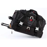 Black Athalon 21 Equipment Duffel with Wheels