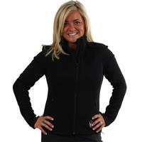 Black/Black Quest Embossed Spyder The Core 3 in 1 Jacket Womens