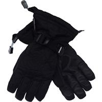 Black / Black Spyder Over Web Gloves Boys